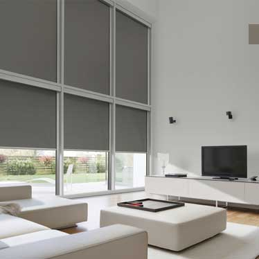 Also known as theatre blinds, combine a sleek contemporary look with complete light control.