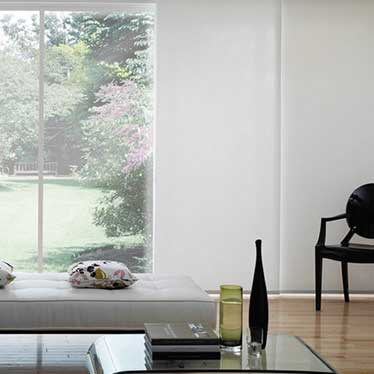 Add an elegant backdrop to any interior, whilst controlling light and privacy.