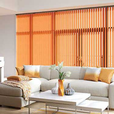 Combining style, functionality and flexibility, there's a classic, timeless quality about vertical blinds.